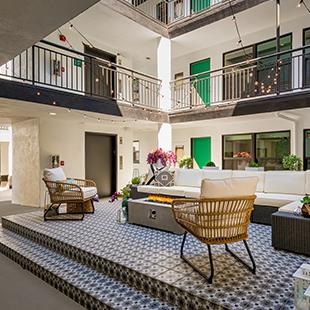 Pasadena Apartment Social Area